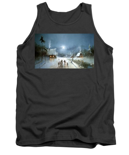 Christmas Night Tank Top