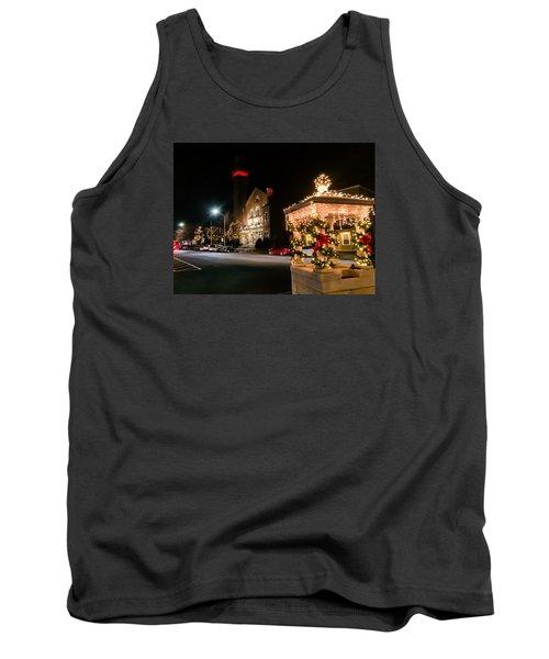 Christmas On Main Street Easthampton Tank Top