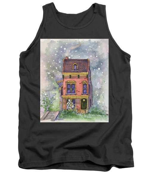 Christmas On North Hill Tank Top