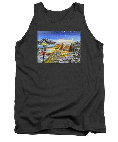 Christmas On The Bay Tank Top by Kevin F Heuman