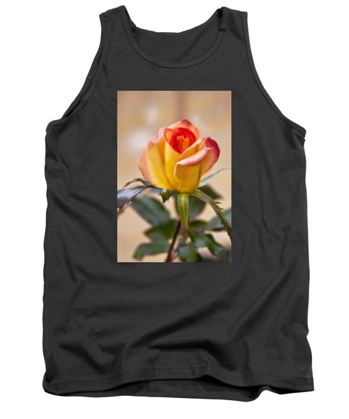 Tank Top featuring the photograph Christmas Rose by Joan Bertucci