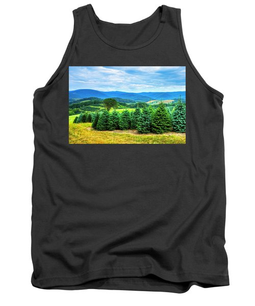 Christmas Spirit Tank Top by Dale R Carlson