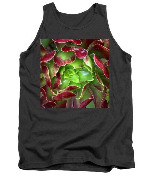 Christmas Succulent Tank Top