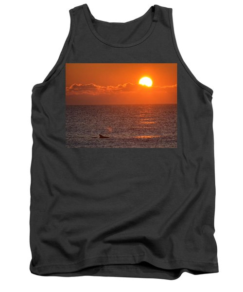 Tank Top featuring the photograph Christmas Sunrise On The Atlantic Ocean by Sumoflam Photography