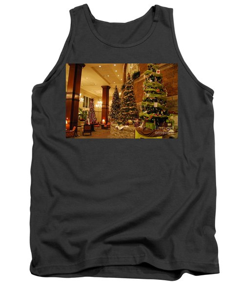 Tank Top featuring the photograph Christmas Tree by Eric Liller