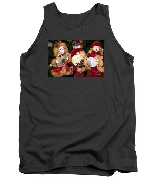 Christmas Trio Tank Top by Vinnie Oakes