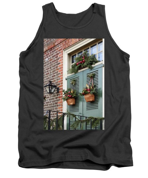 Christmas Welcome Tank Top