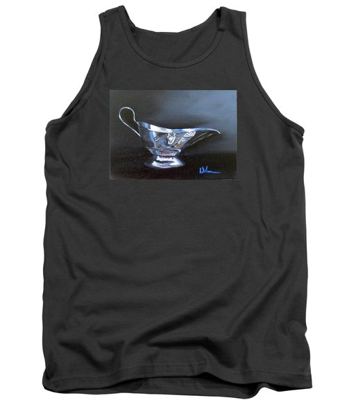 Chrome Reflections Tank Top by LaVonne Hand