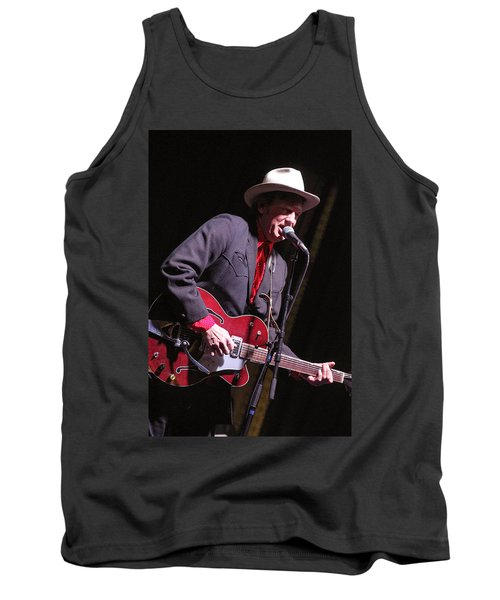 Tank Top featuring the photograph Chuck Mead by Jim Mathis
