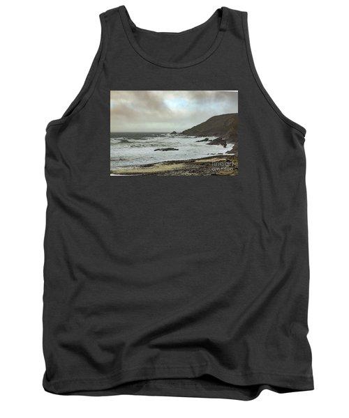 Tank Top featuring the photograph Church Cove Gunwallow by Brian Roscorla
