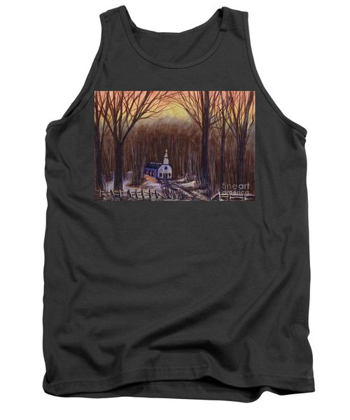 Church In The Woods  Tank Top