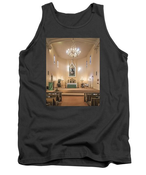 Church Of The Assumption Of The Blessed Virgin Altar Tank Top by Andy Crawford