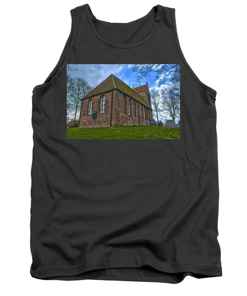Church On The Mound Of Oostum Tank Top