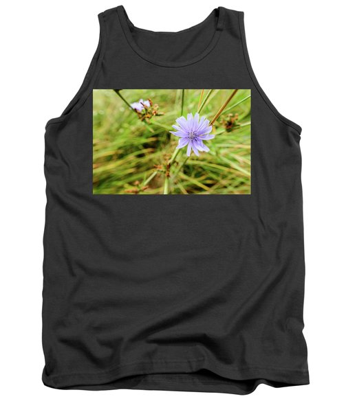 Cichorium Intybus, Chicory Tank Top