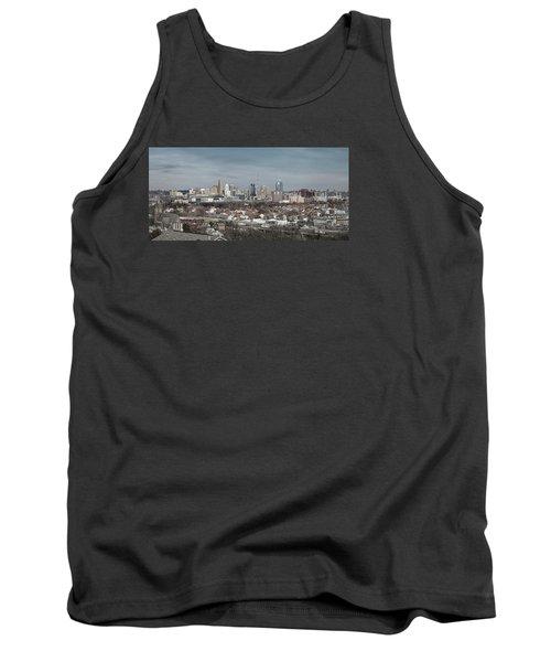 Cincinnati Panorama  Tank Top by Scott Meyer