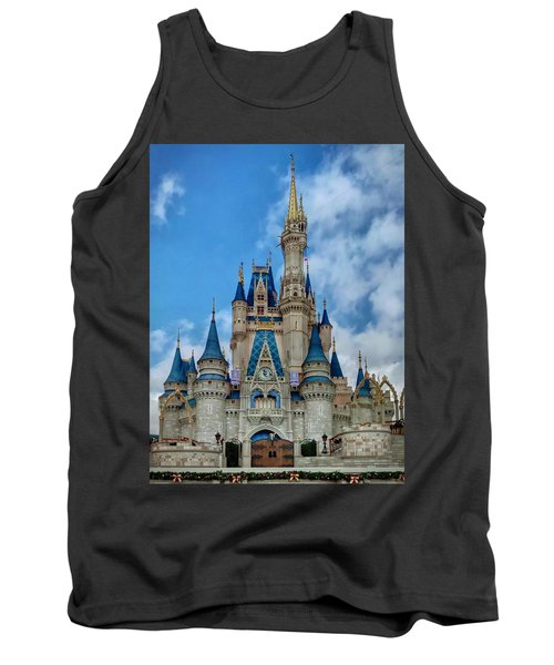 Cinderella Castle Tank Top