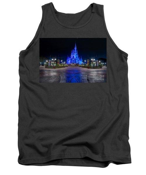 Cinderellas Castle Glow Tank Top