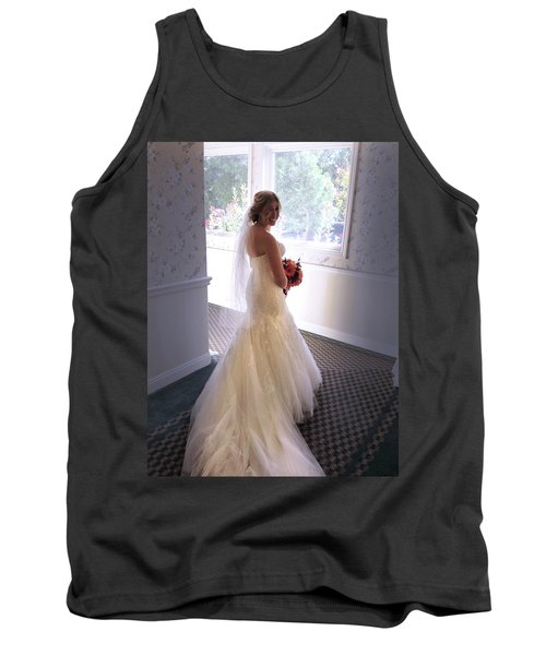 Cindy Sue Gets Married Tank Top
