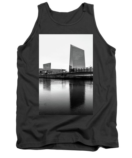 Tank Top featuring the photograph Cira Centre - Philadelphia Urban Photography by David Sutton