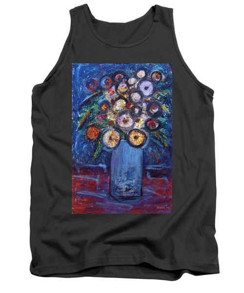 Circle Of Flowers Tank Top