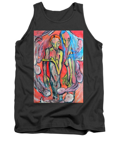 Circular - Around Tank Top by Kenneth Agnello
