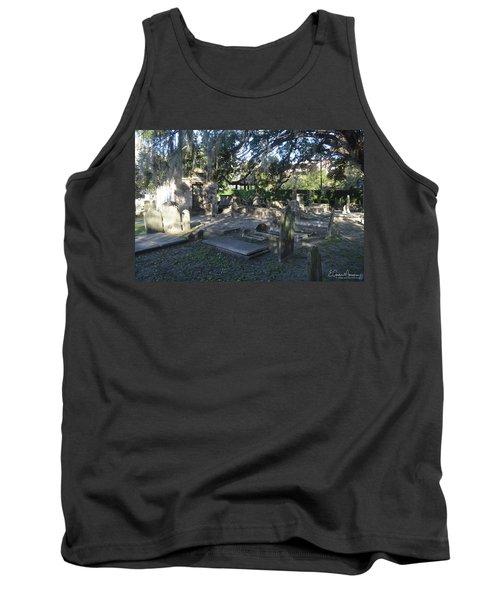 Circular Congregational Graveyard 1 Tank Top