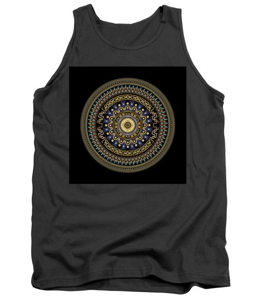 Circularium No 2643 Tank Top by Alan Bennington