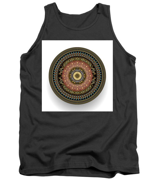 Circularium No 2645 Tank Top by Alan Bennington