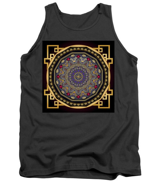 Circularium No 2651 Tank Top by Alan Bennington