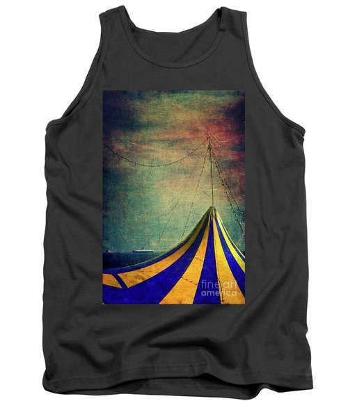 Circus With Distant Ships II Tank Top