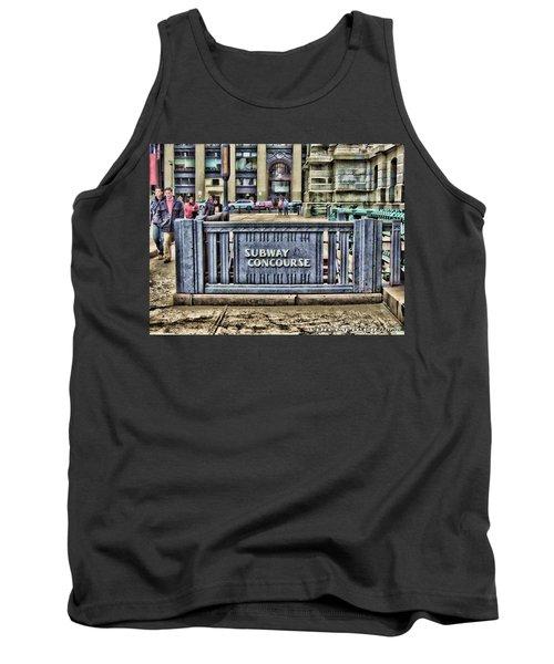 City Hall Sidewalk Tank Top