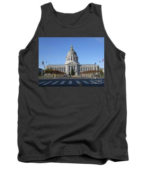 City Hall Tank Top by Steven Spak