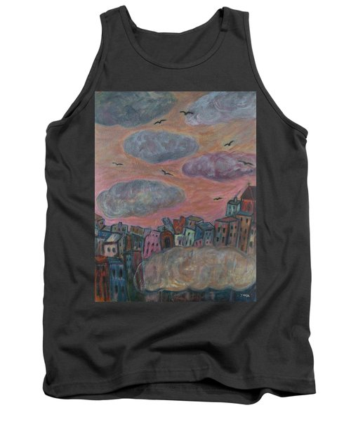 City Of Clouds Tank Top