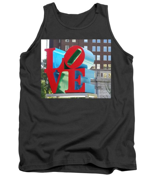 City Of Love Tank Top
