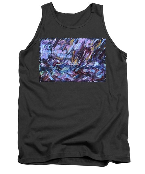 City Storm Abstract Tank Top