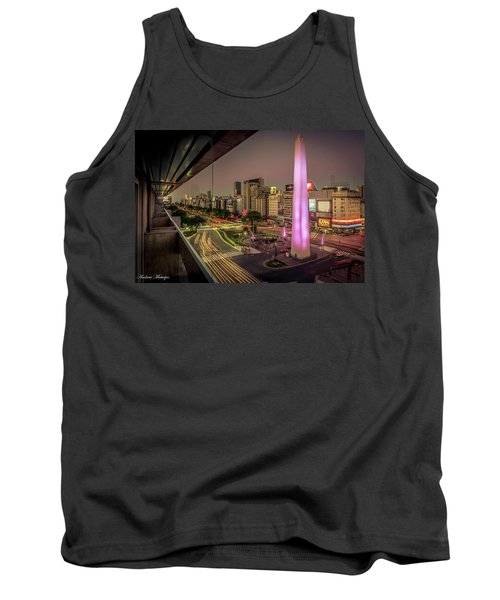 City Sunset Tank Top