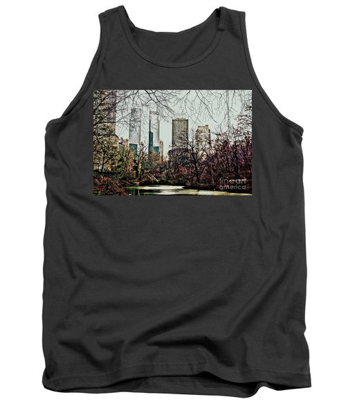 City View From Park Tank Top