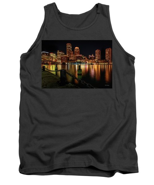 City With A Soul- Boston Harbor Tank Top