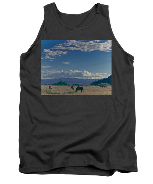 Classic Country Scene Tank Top
