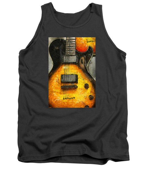 Tank Top featuring the photograph Classic Rock by Brian Davis