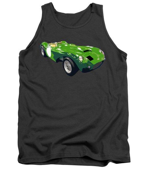 Classic Sports Green Art Tank Top