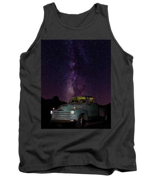 Classic Truck Under The Milky Way Tank Top