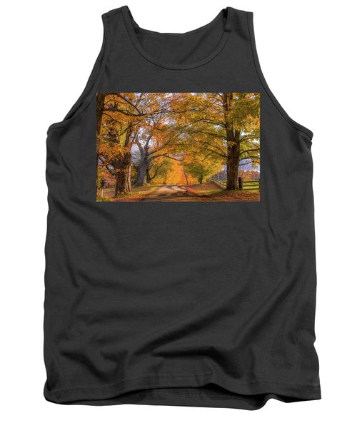 Classic Vermont Fall Tank Top