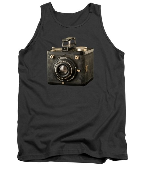 Classic Vintage Kodak Brownie Camera Tee Tank Top