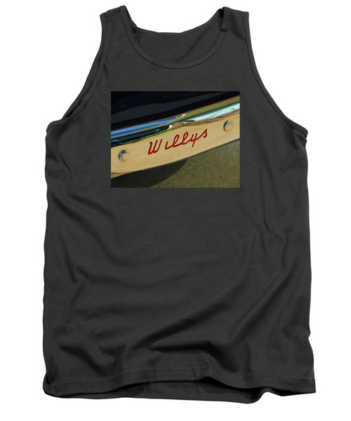 Classic Willys Jeep Tank Top