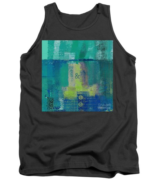 Tank Top featuring the digital art Classico - S03c04 by Variance Collections