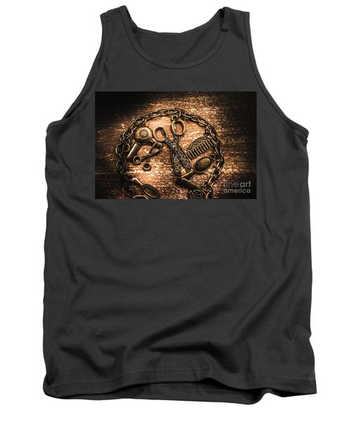 Classy Haircut Icons Tank Top