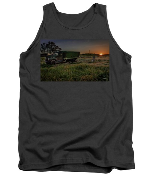Clear Morning Sunrise Tank Top