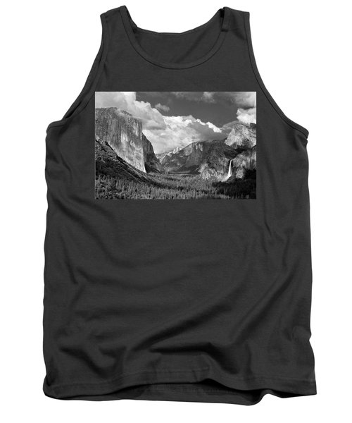 Clearing Skies Yosemite Valley Tank Top