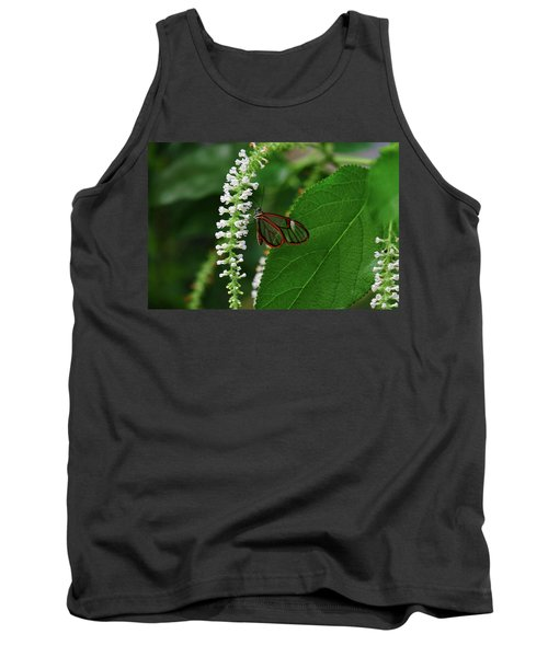 Clearwing Butterfly Tank Top by Ronda Ryan